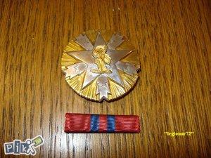 Orden Zasluga za narod 2 Red