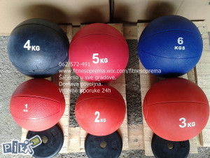 Medicinske lopte 1-2-3-4-5-6-8-9kg