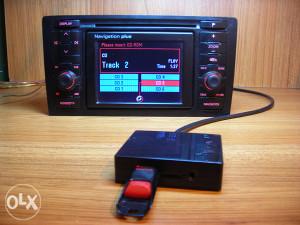 Adapter USB-SD-AUX za auto muziku