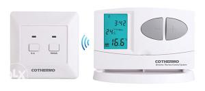 Bezicni digitalni sobni termostat
