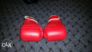 Rukavice za boks crvene OZ 12