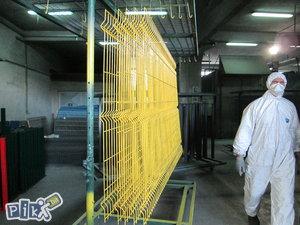 Panelna ograda,panelne ograde industriske ograde