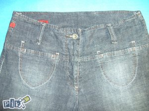 Pa: Jeans visoki struk 40  velicina