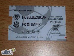 Ulaznica Željo - Olimpik