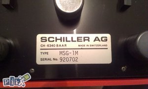 EKG Schiller AG pratećom opremom