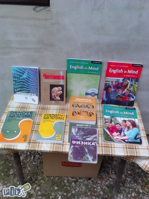 Knjige za masinsku( tehnicku) skolu,BL