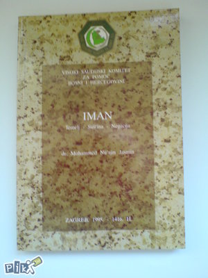 knjige islam Jasmin: Iman, temelj suština negacija