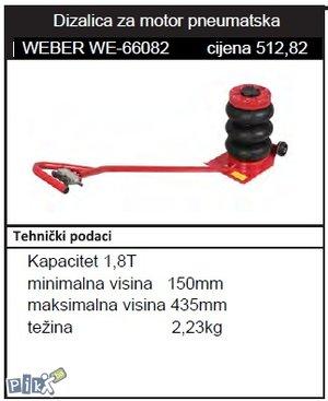 Dizalica za motor  WEBER WE-66082