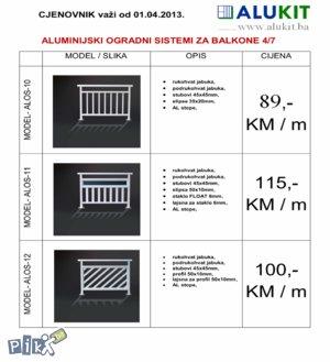 PVC Prozori vrata ograde-unutrasnja i vanjska stolarija