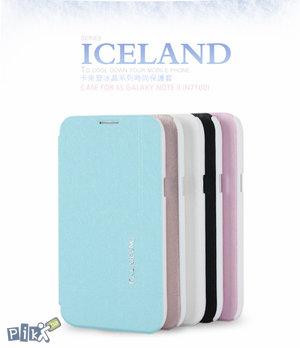KLD Iceland Folio futrola za Note 2 N7100 crna i bijela