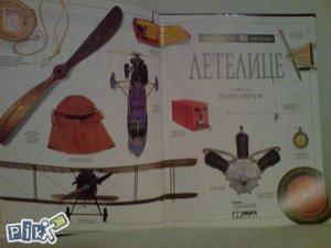 Knjiga letjelice , letelice