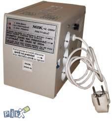 Pretvarač 12-220v pumpe cent.grij.mik500