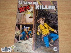 Tex 345 La tana del killer