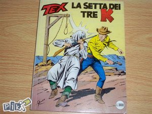 Tex 351 La setta dei tre K