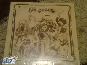 STARA LP BULDOZER (2) gramofonska ploca ploce antikvitet stare staro jugoslavija