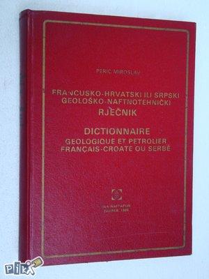 Francusko hrvatsko - srpski geološki rječnik