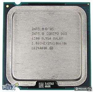 SL9SA Intel Core 2 Duo E6300 1,86GHz/2M