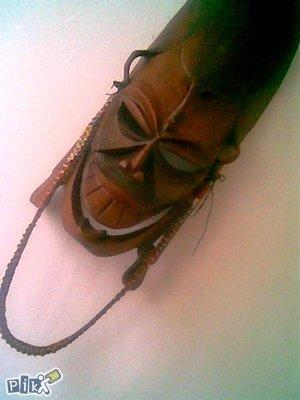 Maska od drveta