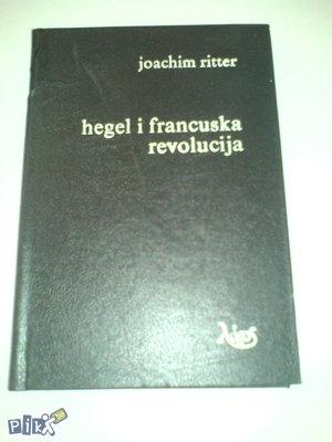 knjige, Ritter: Hegel i francuska revolucija
