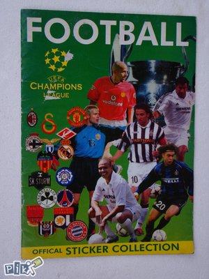 Uefa Champions League album (rijetko)