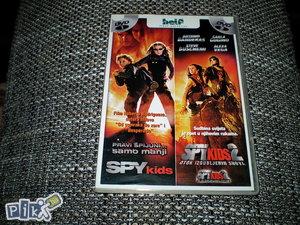 DVD - 2U1  SPY KIDS 1 i 2 original(TINEJDŽERSKI)