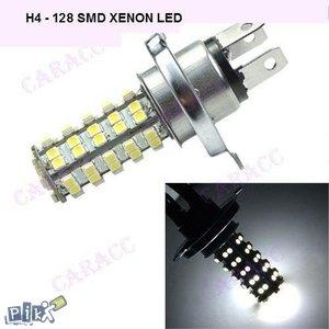 H4 led 128 SMD xenon