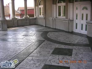 Stampani beton