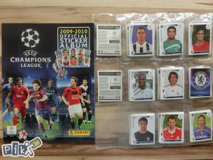 UEFA Champions League 2009/2010 Set sličica  +  album