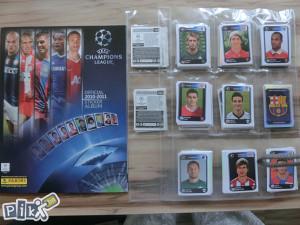 UEFA Champions League 2010/2011 Set sličica + album