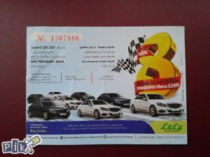 Karta za parking--Qatar