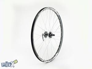 "Prednji tocak za bicikl, 26"", disk, V felna ojacana"