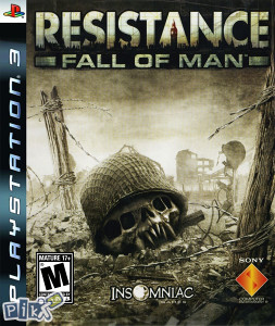 RESISTANCE FALL OF MAN FOR PS3