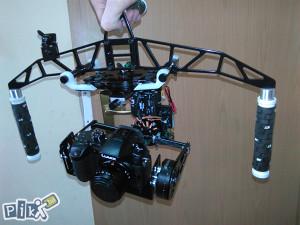 GIMBAL 3D - STABILIZATOR DSLR KAMERE GH4 GH5 Alpha...