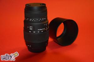 Sigma 70-300mm F4-5.6 DG MACRO za Nikon !