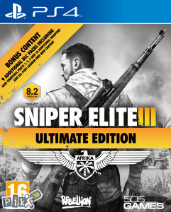 Sniper Elite III 3 Ultimate Edition (PlayStation 4 PS4)