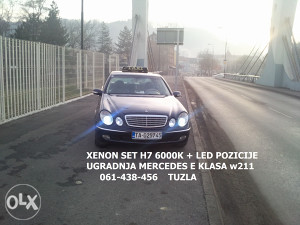 XENON SVJETLA XENONI H7 6000K MERCEDES BMW AUDI VW