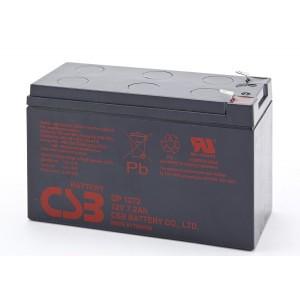 Baterija CSB GP1272 (12V, 7.2Ah, F1, 10 kom po 38 KM)
