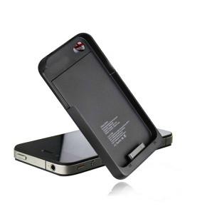 CRNI EXTERNI -DODATNI PUNJAČ za IPHONE 4 i 4S mobitel