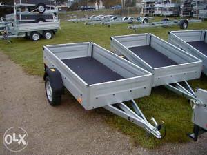 Auto prikolica 750 kg ukupne mase-TPV Bockmann (NOVA)