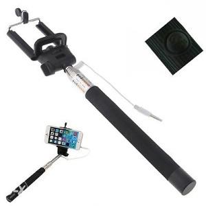Selfie štap za slikanje (okidac,kablo) CRNI 065 786 350