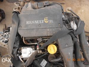 MOTOR RENAULT 1.9 DTI,75 KW,KOMPLET ILI U DIJELOVIMA