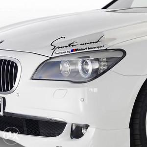 Auto naljepnica BMW Sport mind