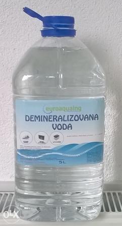 DEMINERALIZOVANA (DEJONIZOVANA) VODA