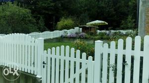 PVC (plastične) ograde dvorišne