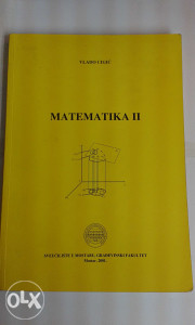 Knjiga - Matematika II