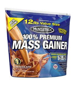 MUSCLETECH 100% MASS GAINER 5,5kg