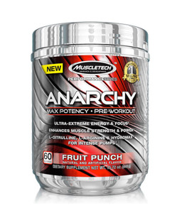 Muscletech Anarchy 60 doza