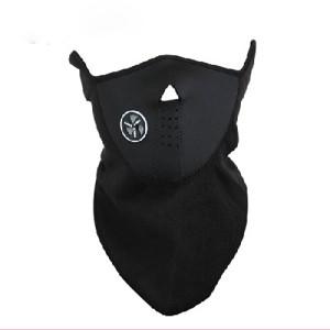 Maska potkapa za facu ski motor CRNA