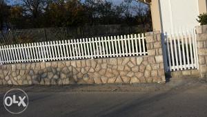 Aluminijske ograde raznih izvedbi  60km po 1/m